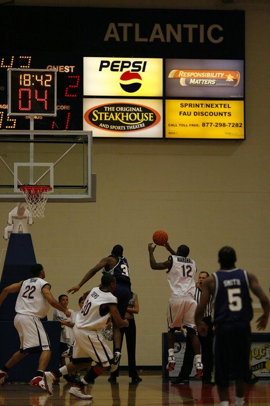FAU Basketball vs East Tenn State 1012