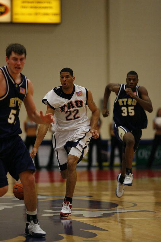 FAU Basketball vs East Tenn State 1022