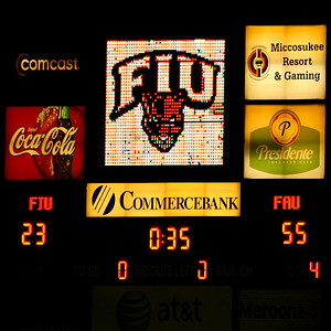 FAU vs FIU 07Nov24-  (1877)sq Score Board end of game