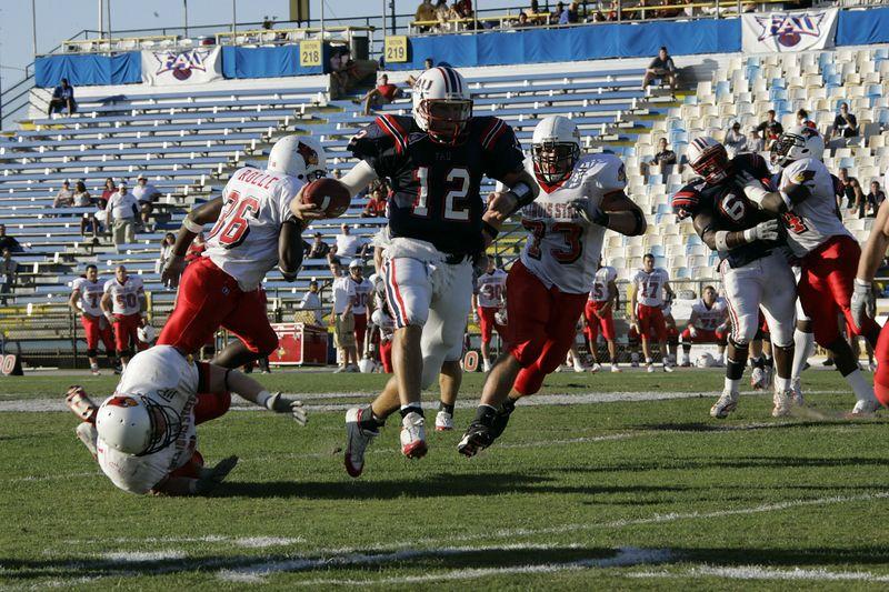 FAU Football vs Illinois State - 20 November 2004 4pm  0004