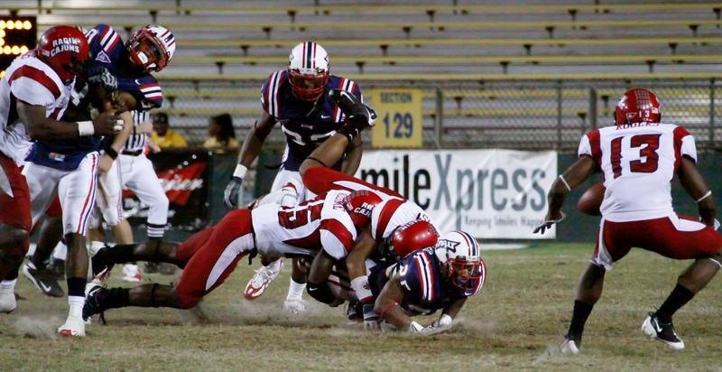 FAU Football vs Louisiana-Lafayette Ragin Cajuns 2008Nov15n551 -  (212)
