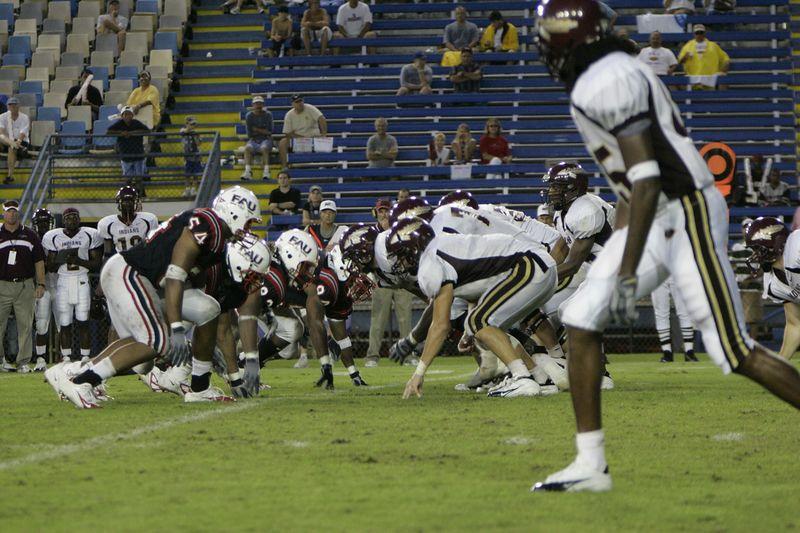 FAU Football vs Louisiana 2004-Oct-23 0657