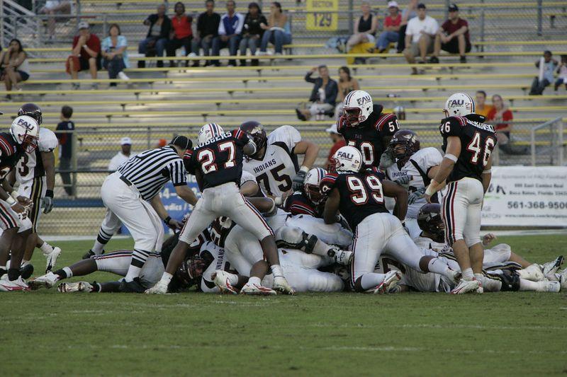 FAU Football vs Louisiana 2004-Oct-23 0549