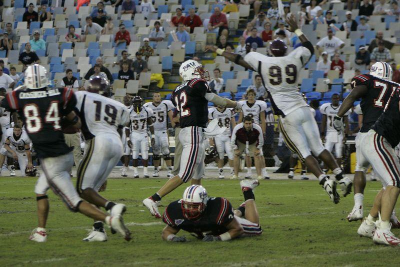 FAU Football vs Louisiana 2004-Oct-23 0630