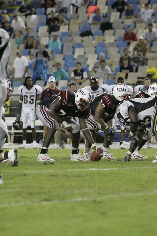 FAU Football vs Louisiana 2004-Oct-23 0687