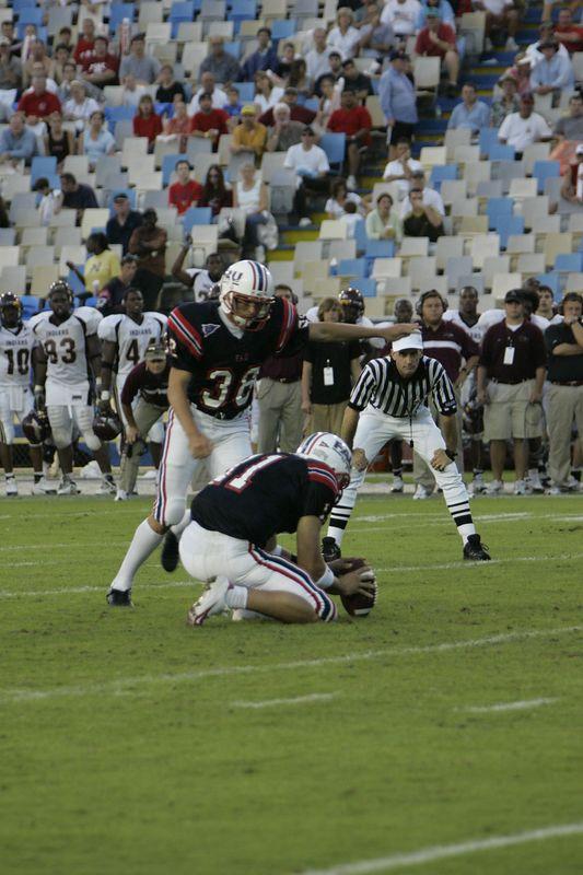 FAU Football vs Louisiana 2004-Oct-23 0597