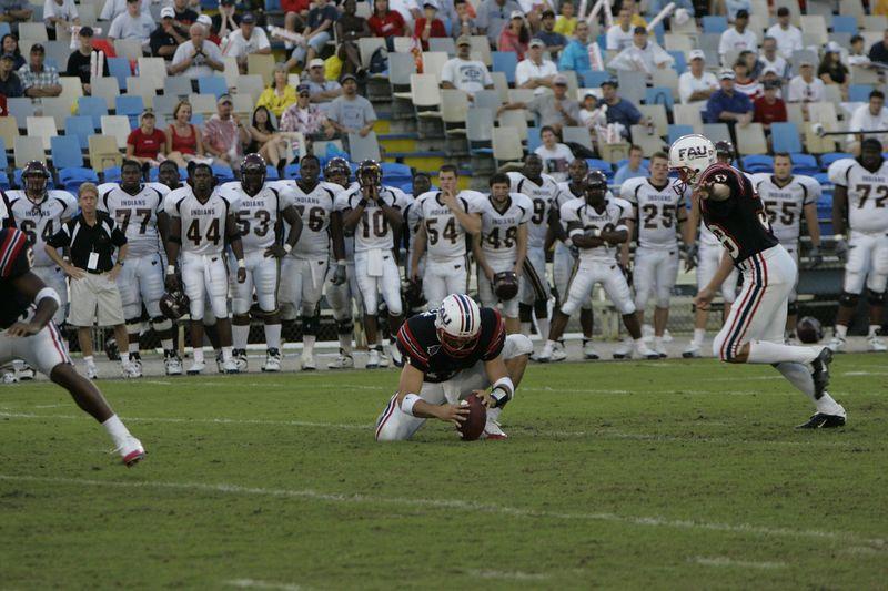 FAU Football vs Louisiana 2004-Oct-23 0533