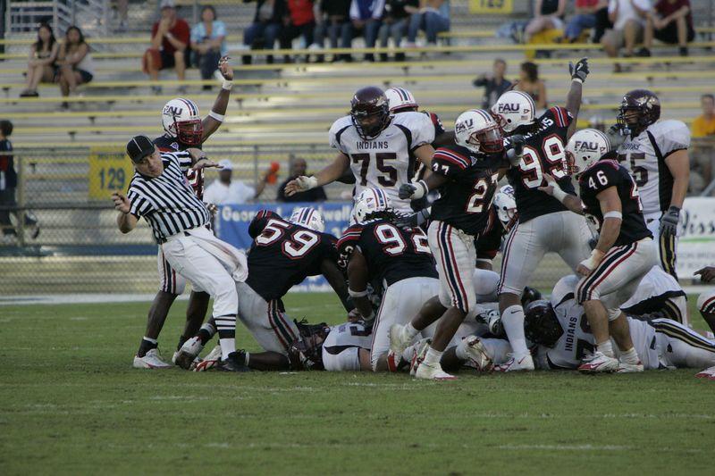 FAU Football vs Louisiana 2004-Oct-23 0550