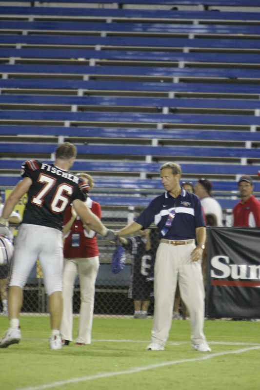 FAU Football vs Louisiana 2004-Oct-23 0723