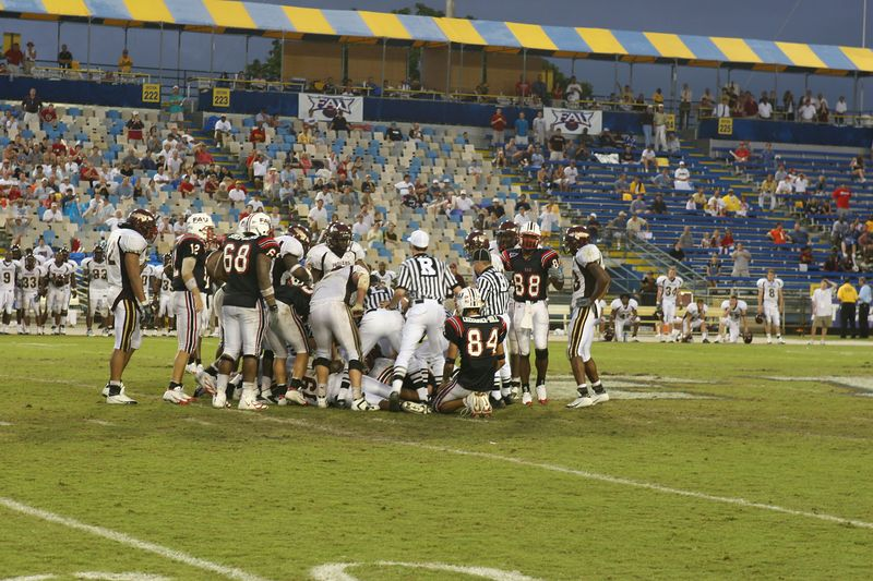 FAU Football vs Louisiana 2004-Oct-23 0870
