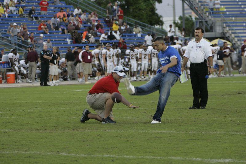 FAU Football vs Louisiana 2004-Oct-23 0545