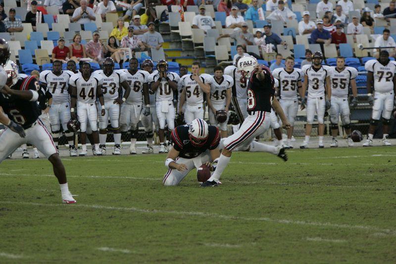 FAU Football vs Louisiana 2004-Oct-23 0535