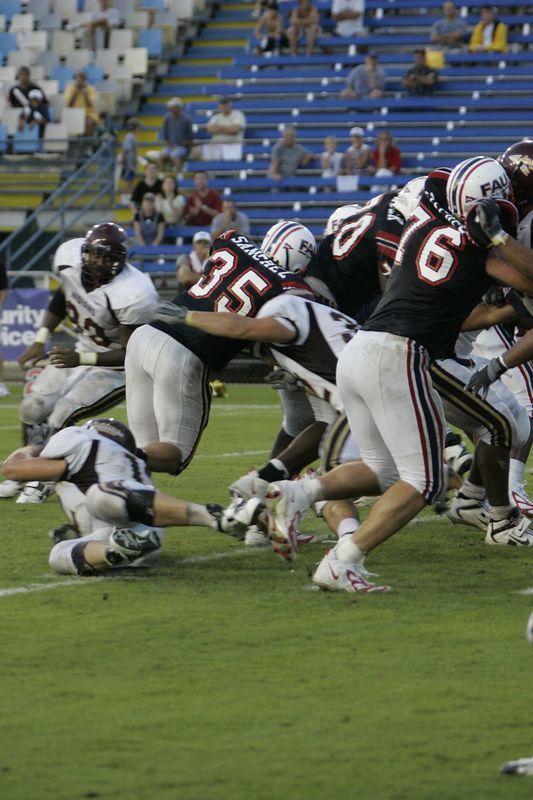 FAU Football vs Louisiana 2004-Oct-23 0587