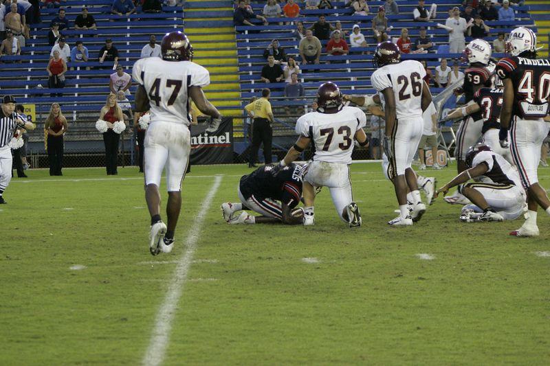 FAU Football vs Louisiana 2004-Oct-23 0635