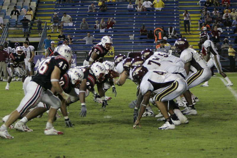 FAU Football vs Louisiana 2004-Oct-23 0655