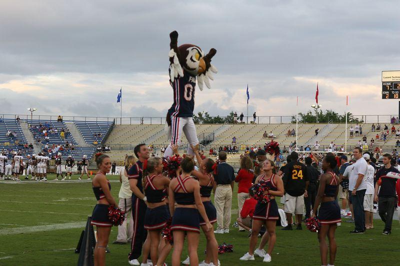FAU Football vs Louisiana 2004-Oct-23 0836