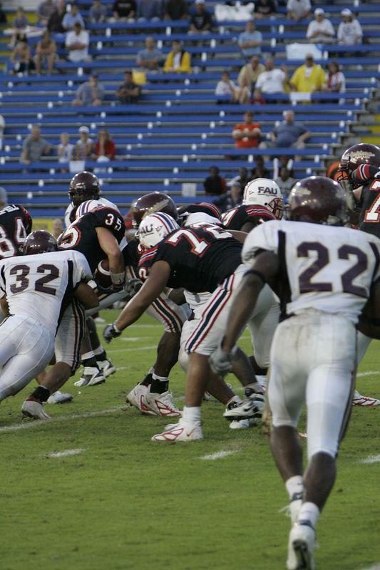 FAU Football vs Louisiana 2004-Oct-23 0591