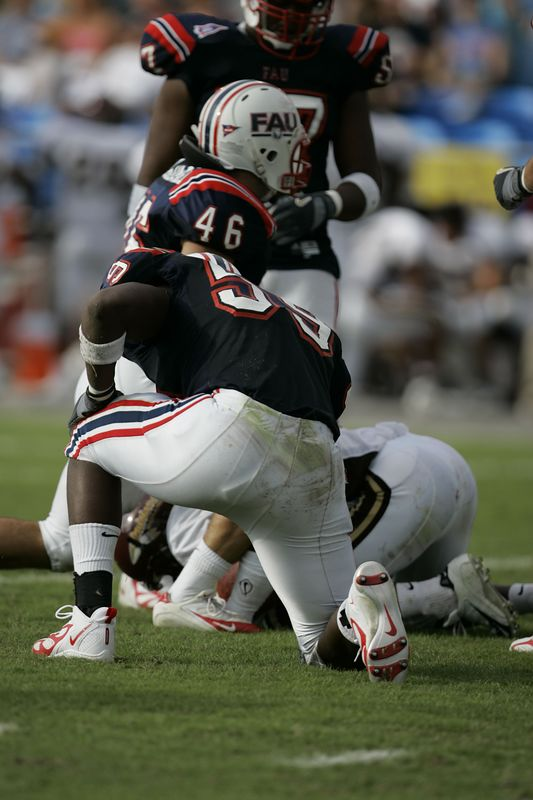 FAU Football vs Louisiana 2004-Oct-23 0279
