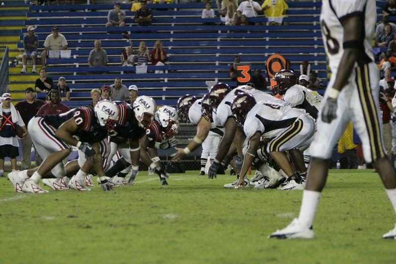 FAU Football vs Louisiana 2004-Oct-23 0661