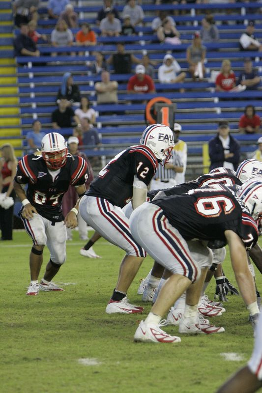 FAU Football vs Louisiana 2004-Oct-23 0637