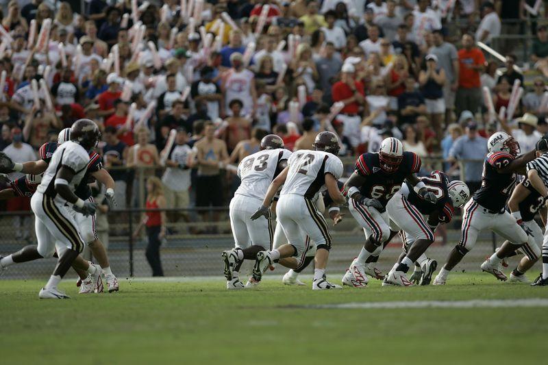 FAU Football vs Louisiana 2004-Oct-23 0200