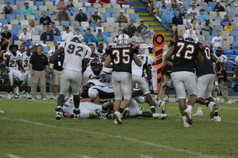 FAU Football vs Louisiana 2004-Oct-23 0532
