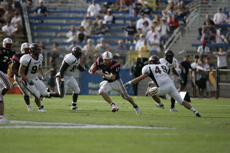 FAU Football vs Louisiana 2004-Oct-23 0263