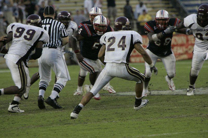 FAU Football vs Louisiana 2004-Oct-23 0620