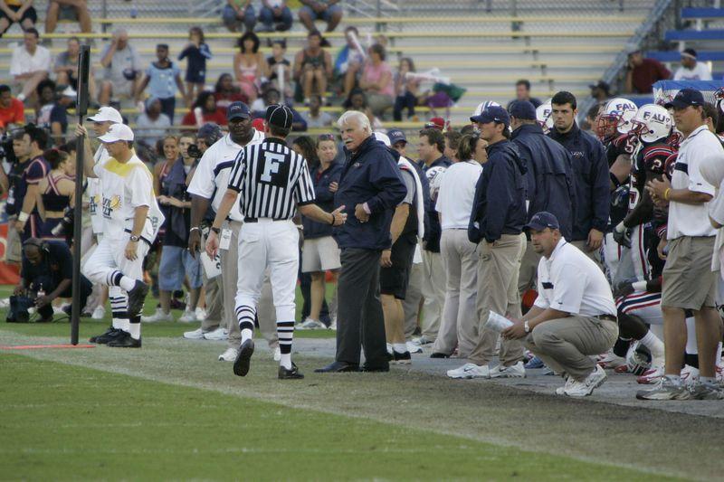 FAU Football vs Louisiana 2004-Oct-23 0548