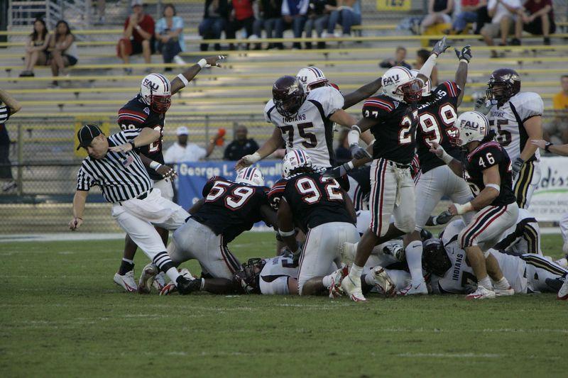FAU Football vs Louisiana 2004-Oct-23 0551