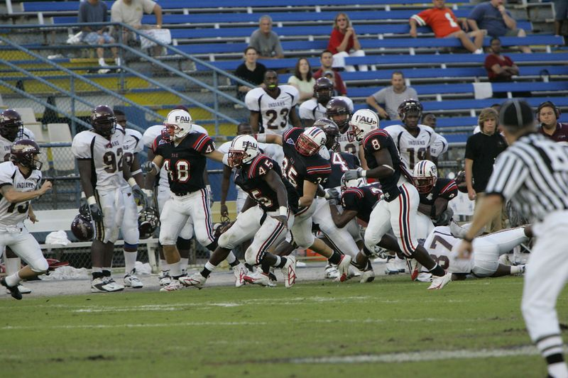 FAU Football vs Louisiana 2004-Oct-23 0495