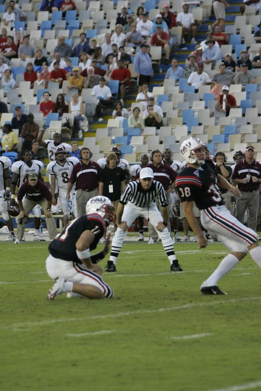 FAU Football vs Louisiana 2004-Oct-23 0602
