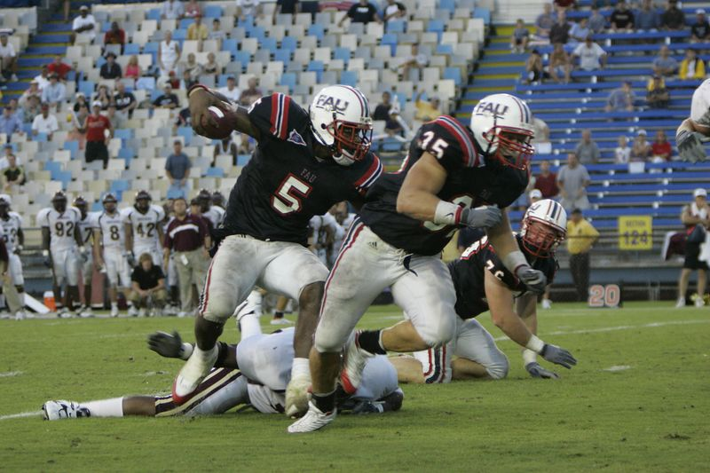FAU Football vs Louisiana 2004-Oct-23 0569