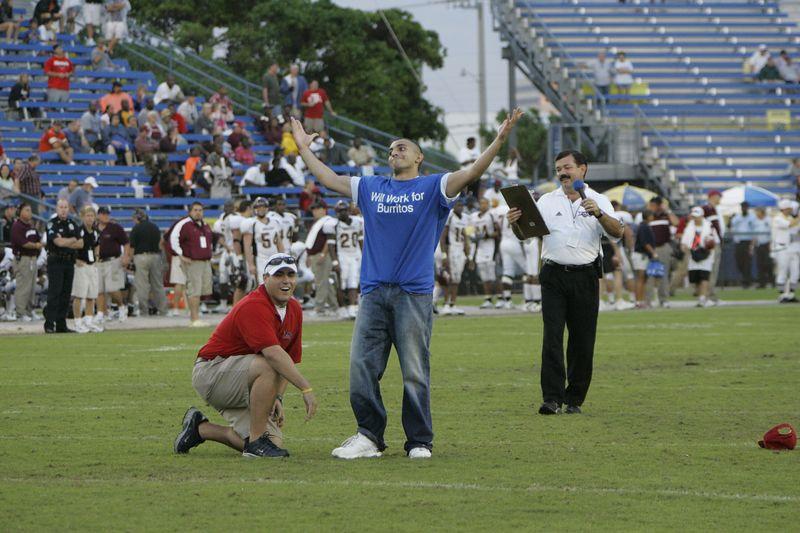 FAU Football vs Louisiana 2004-Oct-23 0547