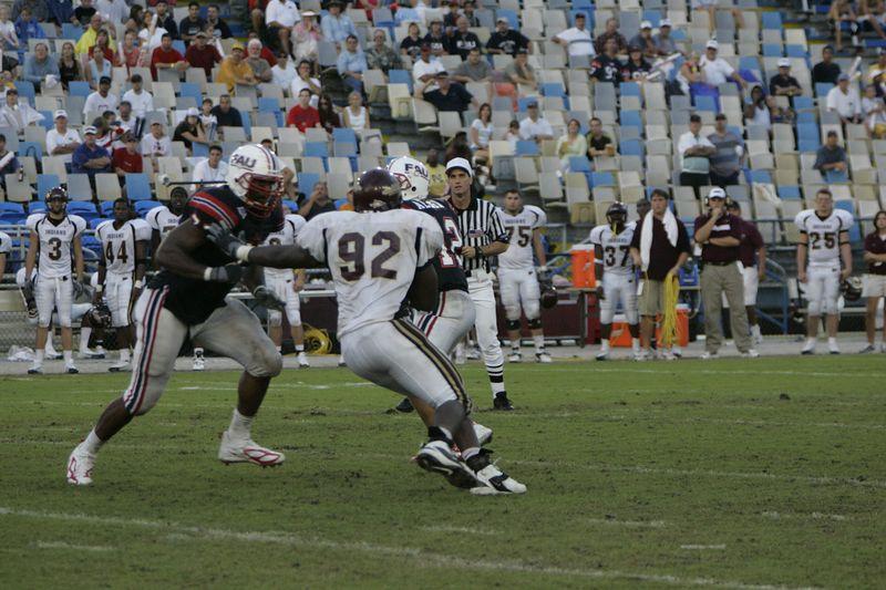 FAU Football vs Louisiana 2004-Oct-23 0529
