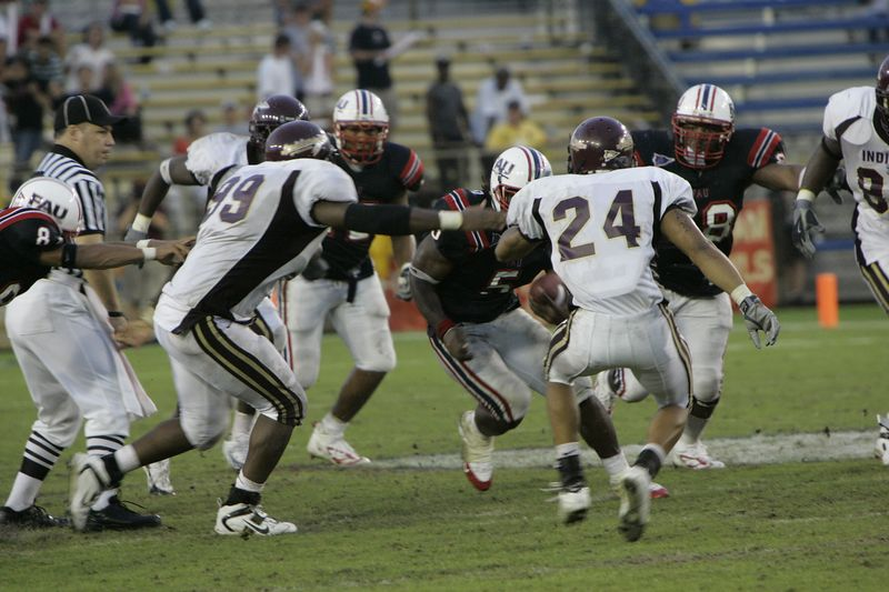FAU Football vs Louisiana 2004-Oct-23 0622