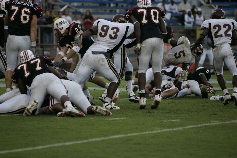 FAU Football vs Louisiana 2004-Oct-23 0442