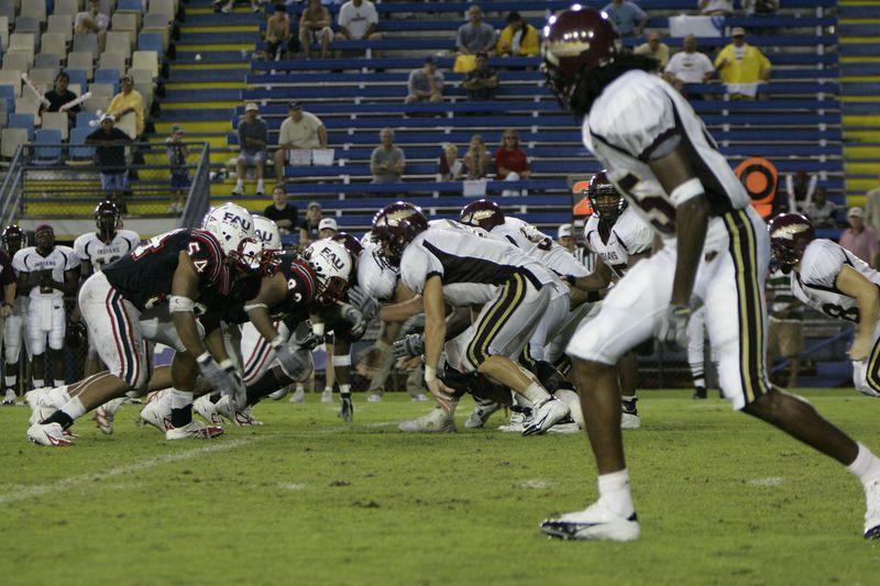 FAU Football vs Louisiana 2004-Oct-23 0658