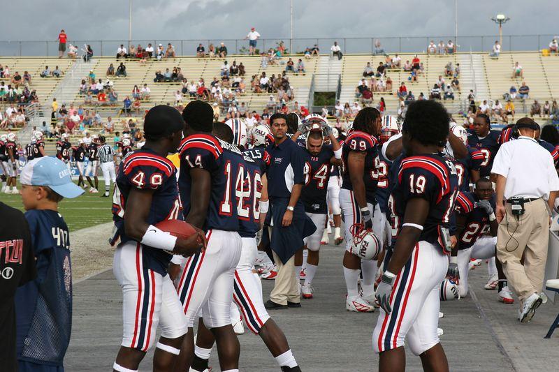 FAU Football vs Louisiana 2004-Oct-23 0801