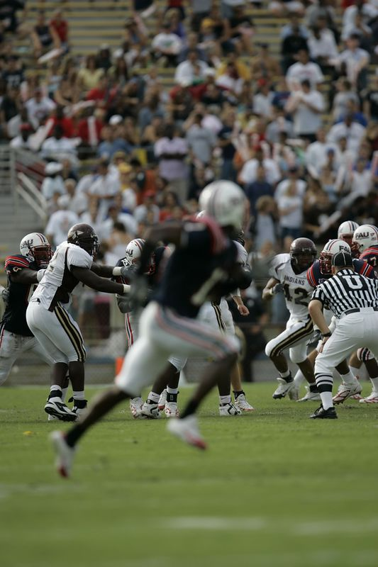 FAU Football vs Louisiana 2004-Oct-23 0166