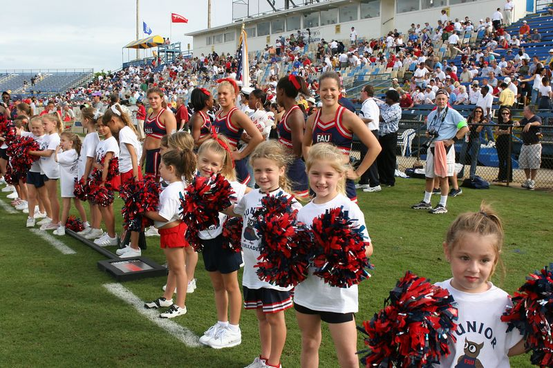 FAU Football vs Louisiana 2004-Oct-23 0742