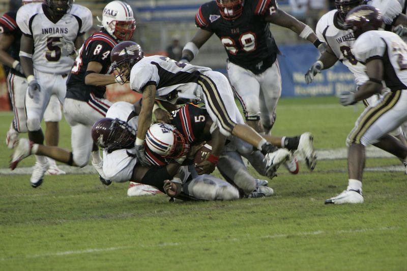 FAU Football vs Louisiana 2004-Oct-23 0623
