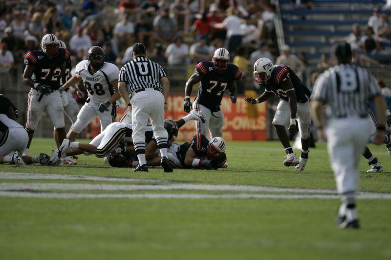 FAU Football vs Louisiana 2004-Oct-23 0249