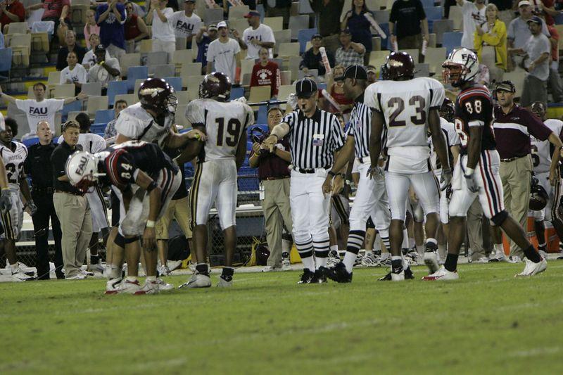 FAU Football vs Louisiana 2004-Oct-23 0680