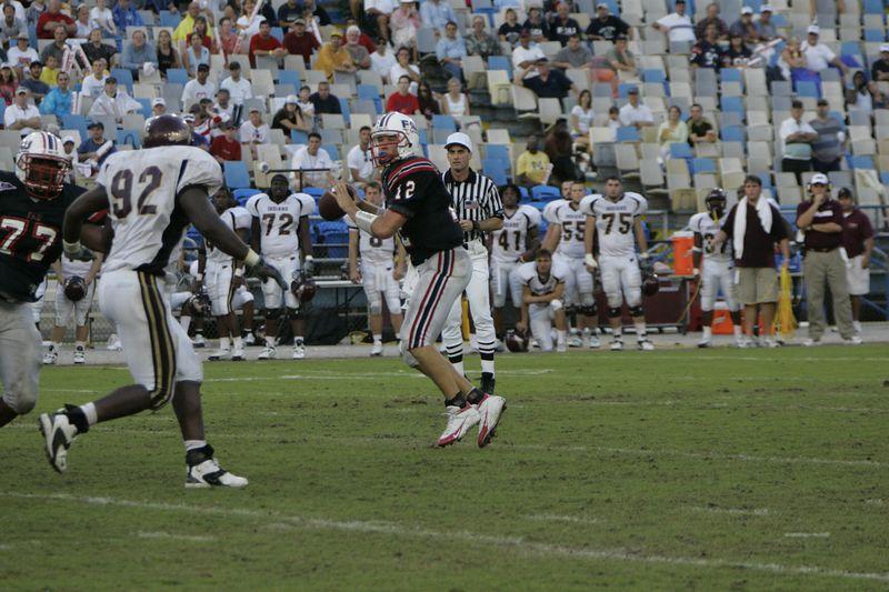 FAU Football vs Louisiana 2004-Oct-23 0525
