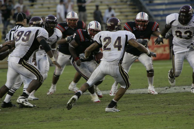 FAU Football vs Louisiana 2004-Oct-23 0621