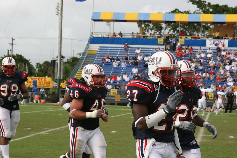 FAU Football vs Louisiana 2004-Oct-23 0787