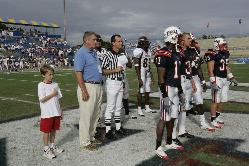 FAU Football vs Louisiana 2004-Oct-23 0121