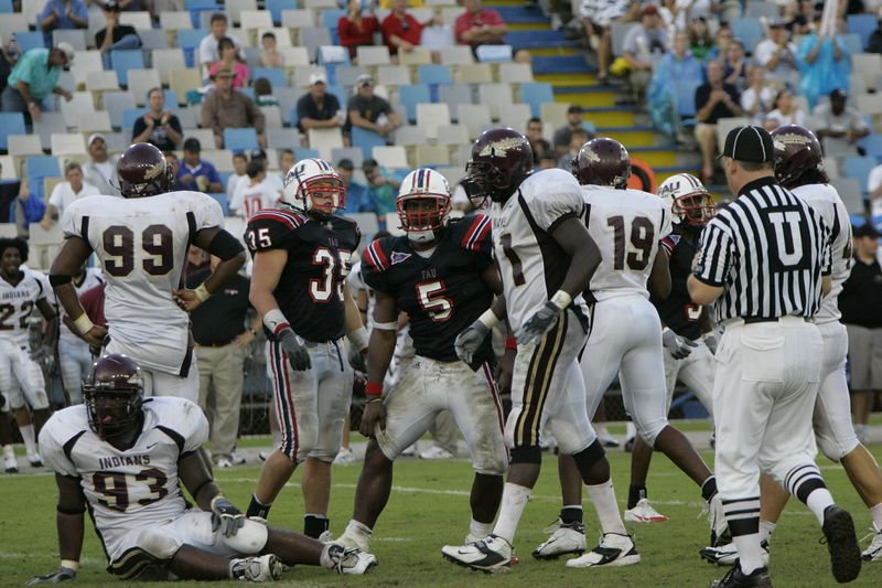 FAU Football vs Louisiana 2004-Oct-23 0524