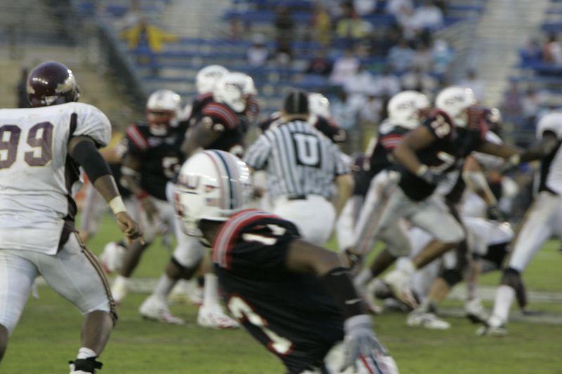 FAU Football vs Louisiana 2004-Oct-23 0627
